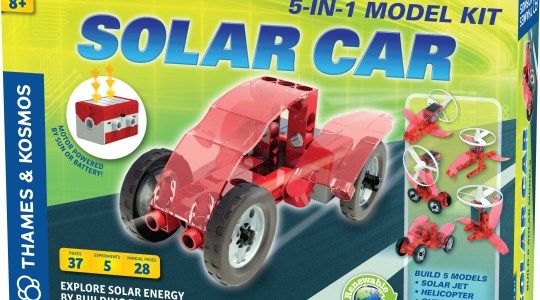 Thames And Kosmos Solar Car #GiftGuide #Giveaway