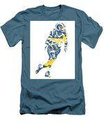 Todd Gurley Los Angeles Rams Pixel Art 22 Men's T-Shirt (Athletic Fit)
