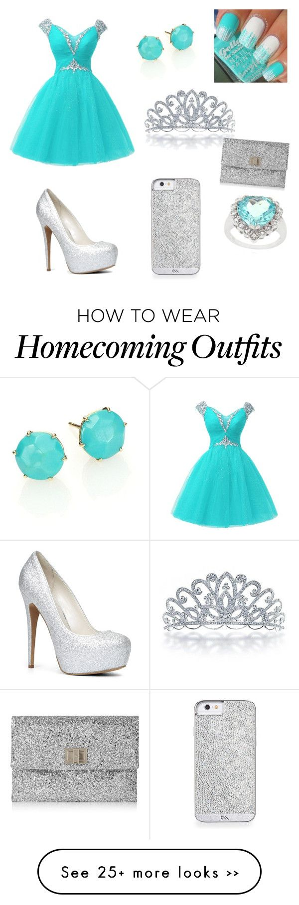 """frozen themed prom"" by bubbleswaggmb on Polyvore"