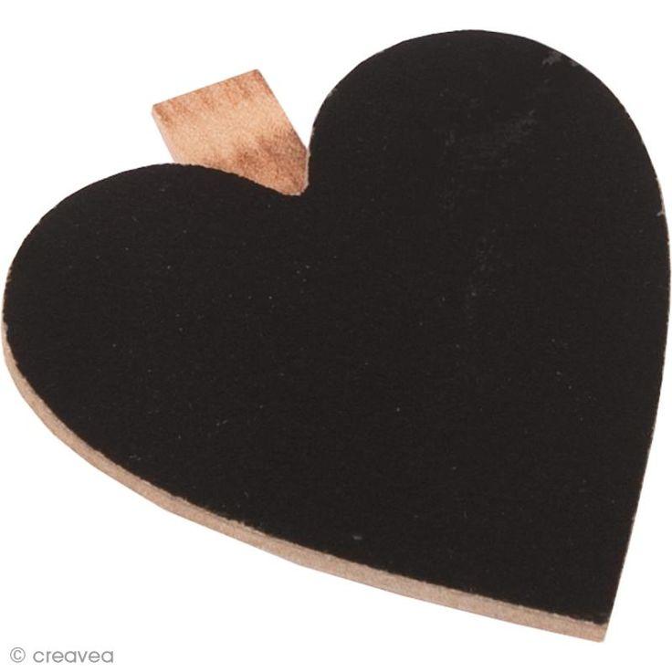 Compra nuestros productos a precios mini Mini pizarra corazón - clip pinza - 6,5 cm - Entrega rápida, gratuita a partir de 89 € !