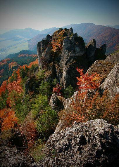 Súľovské Skály rocks near   Žilina/ Slovakia (by   Petr Štork).