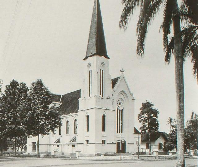 Katedral Bandung - Jalan Merdeka