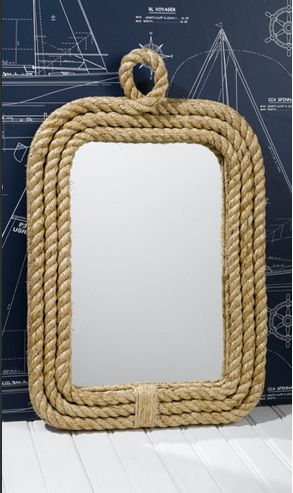 SoHa Living - Know Your Ropes Wall Mirror