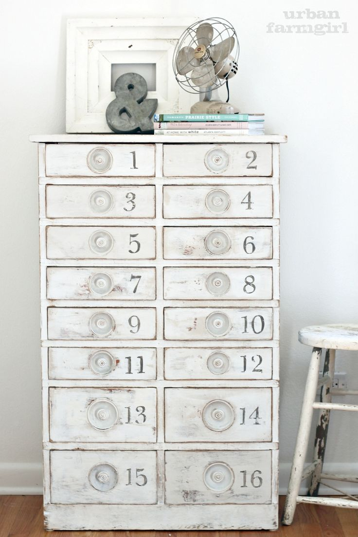 Charming Numbered Drawer Chest. Furniture ...
