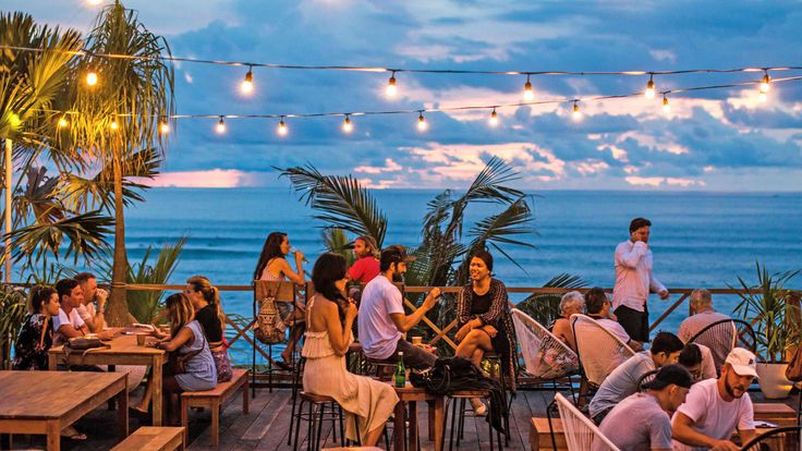 THE LAWN Beach Lounge Canggu, situated directly on the beach in Canggu, Bali • Open from 11am till late daily. • Inquires ~ hello@thelawncanggu.com