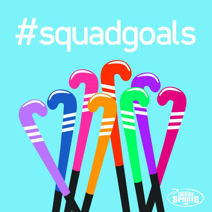 Hockey de Campo es divertido porque tu estas en el equipo. #SquadGoals