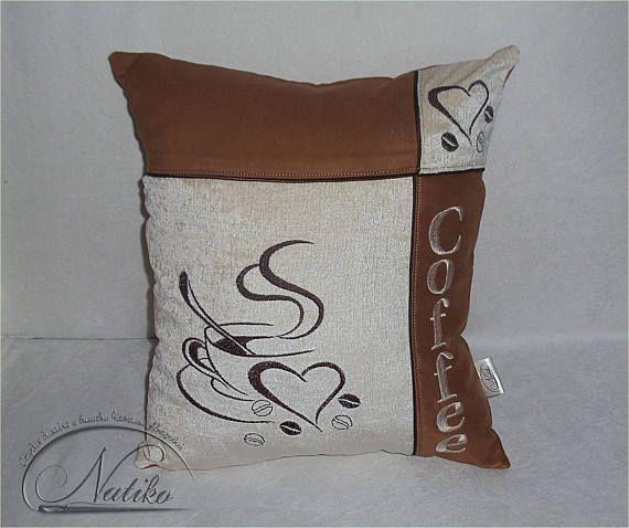 Кухня наволочка подушка подарка для ее Чехол подушки Проектировщик подушка диван подушки Журнальный декора Но первый кофе Вышитые подушки кофе