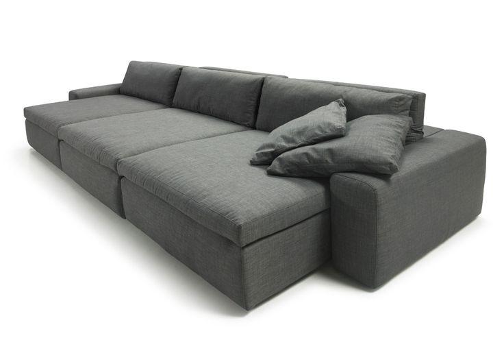 Sofás com chaise longue, sofás com alongadores, sofás com reclináveis, sofás home, sofás modulares / Lagoon - Bell'Arte