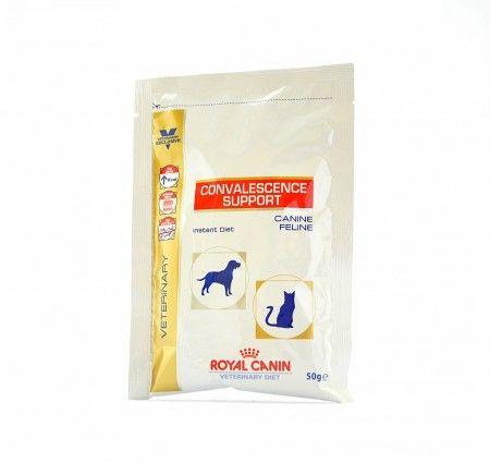 Royal Canin CONVALESCENCE SUPPORT Canine and Feline. Dieta CONVALESCENCE SUPPORT to pełnoporcjowa karma dla dorosłych psów i dorosłych kotów idealna w okresie rekonwalescencji, a także w stanach anoreksji i niedożywienia.