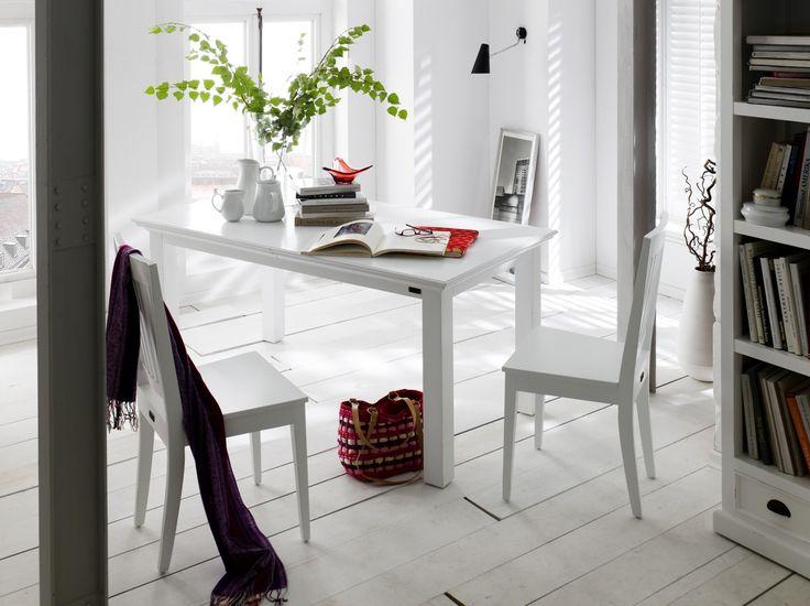 Hvidmalet mahogni møbler