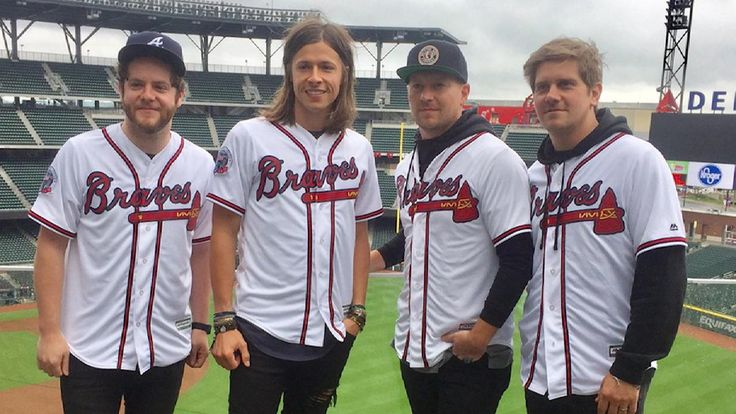 NEEDTOBREATHE, who will be performing at SunTrust Park on July 16, discuss growing up obsessed with baseball and the Atlanta Braves