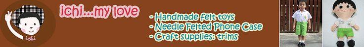 Handmade Toys&Needle Felted Phone cases&Craft por ichimylove Pompones, cintas
