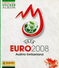 Panini Euro 2008 Austria-Switzerland Album Cover