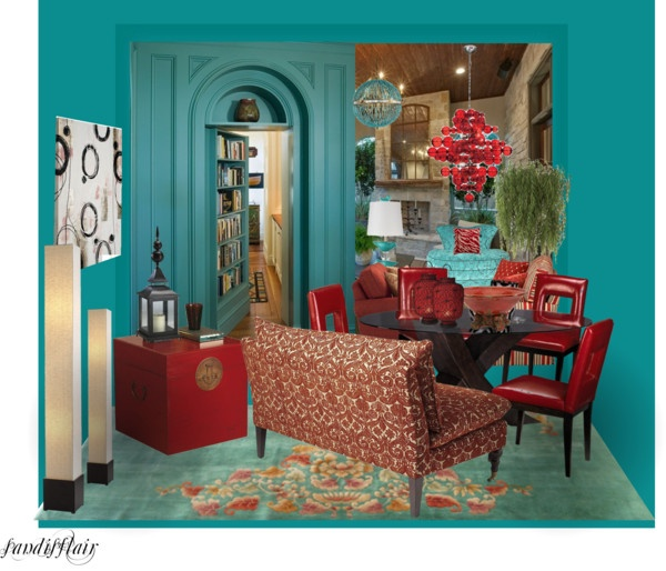 Turquoise Red Bedroom Decorating Ideas: 16 Best My Creations Just For Interior Images On Pinterest