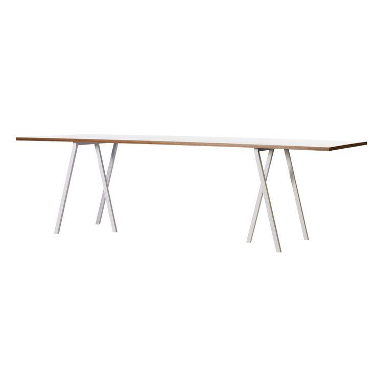 Loop Stand Table bord 160 cm, vit i gruppen Möbler / Bord / Matbord hos RUM21.se (123605)