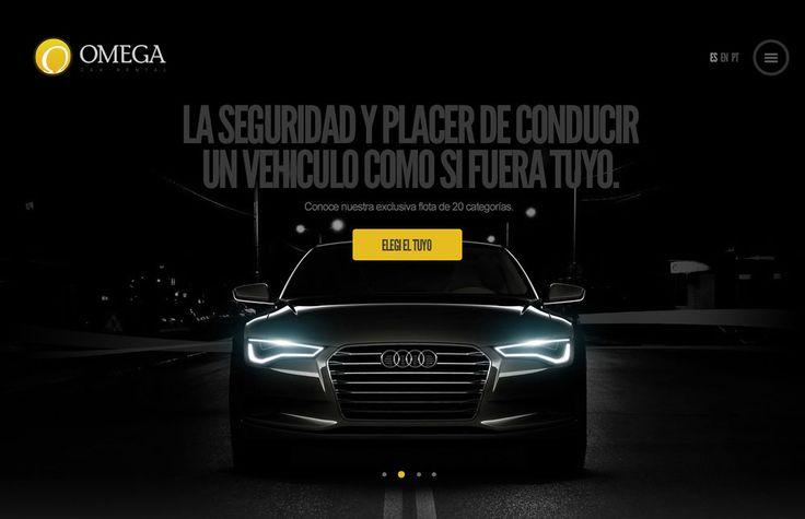 Omega Car Rental - Website of the Day - 01 August 2015 http://www.csswinner.com/details/omega-car-rental/9676