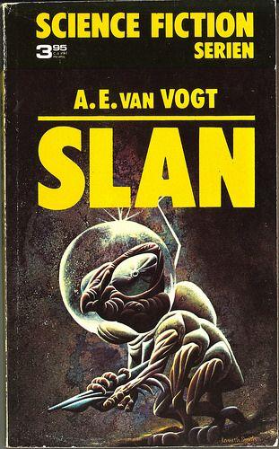 Alfred E van Vogt, Slan [Slan] (1973 - Lindfors förlag, Sweden; Science Fiction Serien 2), cover by Kenneth Smith.   Flickr - Photo Sharing!