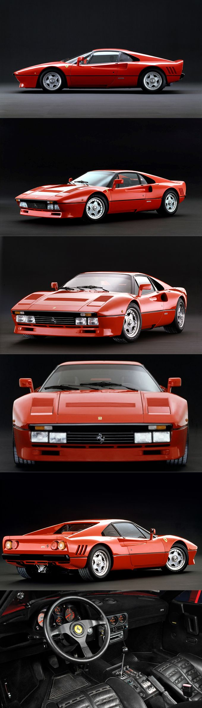 1984 #Ferrari 288 GTO / Group B homologation / 272pcs / red / Italy / Leonardo Fioravanti @ Pininfarina #italiandesign