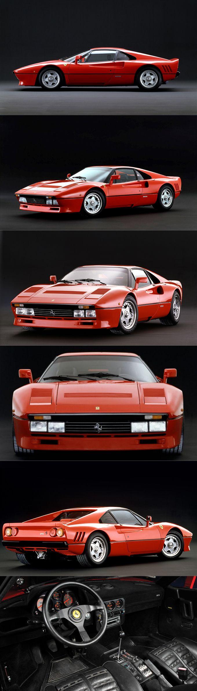 1984 Ferrari 288 GTO / Group B homologation / 272pcs / red / Italy / Leonardo Fioravanti @ Pininfarina