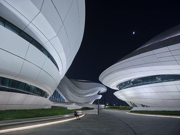 Zaha Hadid Architects Signe Un Nouveau Centre Culturel En Chine