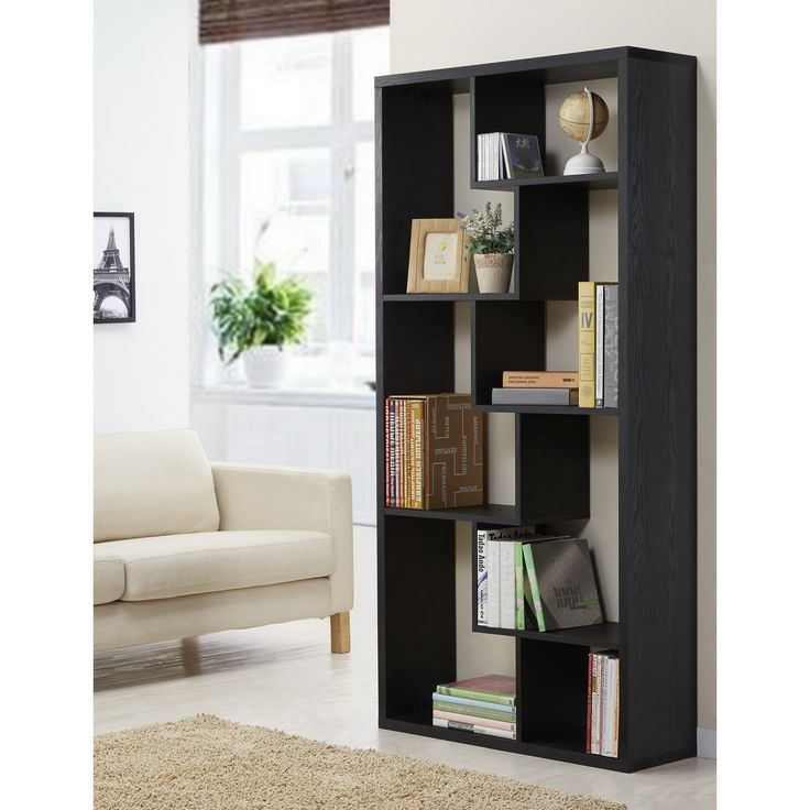 Divide Your Studio With A Stylish Bookcase Display Unit This Is Cleverly Designed
