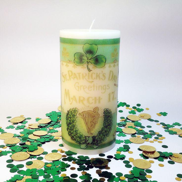 Decoraciones de fiesta de día de San Patricio, vela del día de San Patricio, irlandeses velas, velas del Pilar verde, trébol decoración, Vintage decoración irlandesa de ChandlerAndKemp en Etsy https://www.etsy.com/es/listing/223897013/decoraciones-de-fiesta-de-dia-de-san