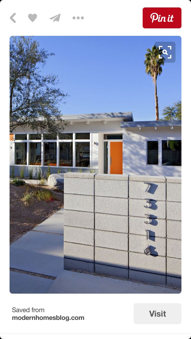 15 best mid century images on Pinterest Modern exterior