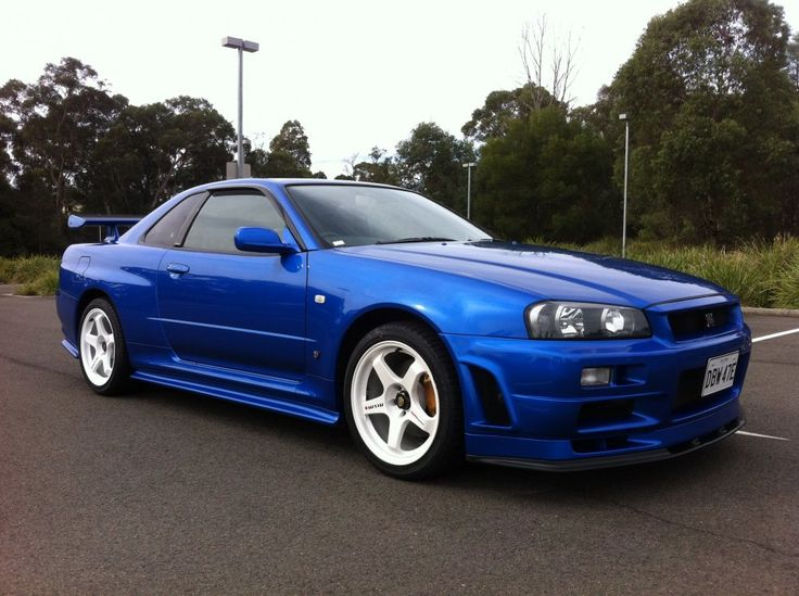 GTR for sale! R34 GTR V-spec 2 Nur - Bayside blue - 15,400 kms