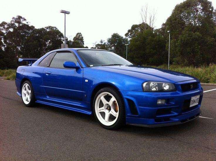 GTR for sale! R34 GTR V-spec 2 Nur - Bayside blue - 15,400 kms