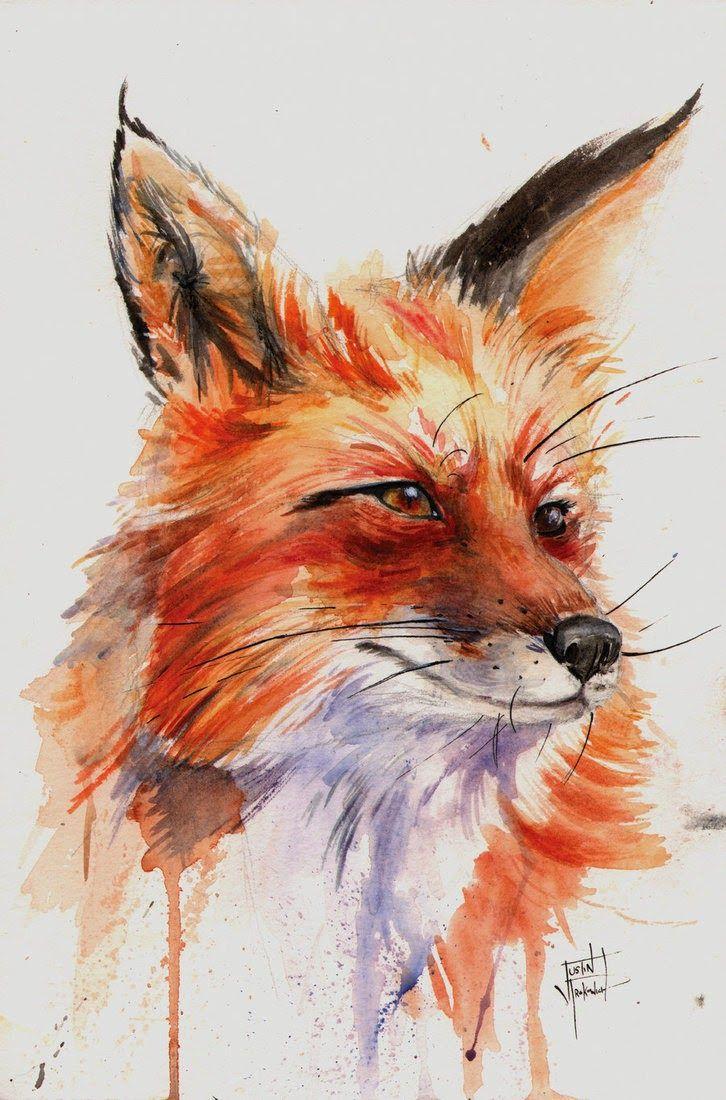 mage fox: Aquarela por toda parte...