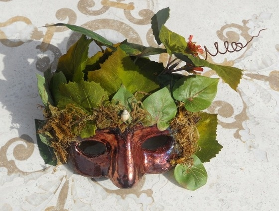Decorative Ceramic Fantasy Mask $50.00