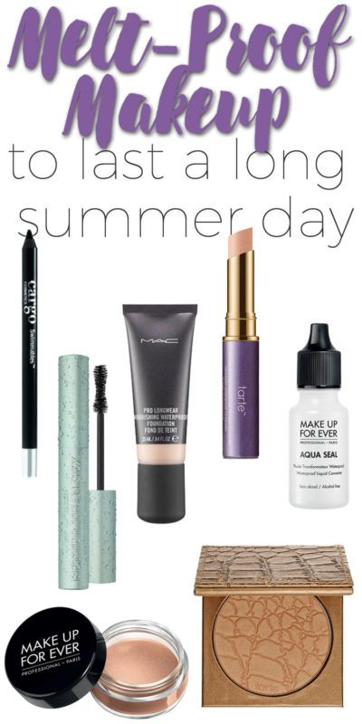 Melt-proof Makeup to Last a Long Summer Day