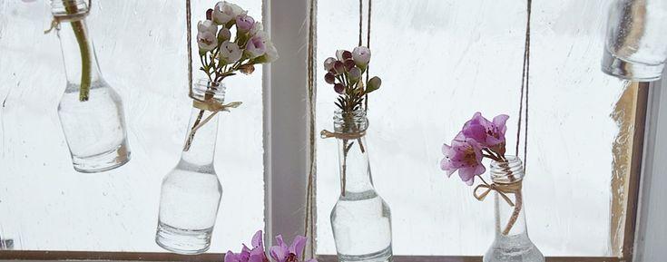 Wir zeigen Ihnen wie sie schnell und einfach Ihre Fenster frühlingshaft dekorieren und so bereits jetzt den Frühling zu sich nach Hause zu holen können.