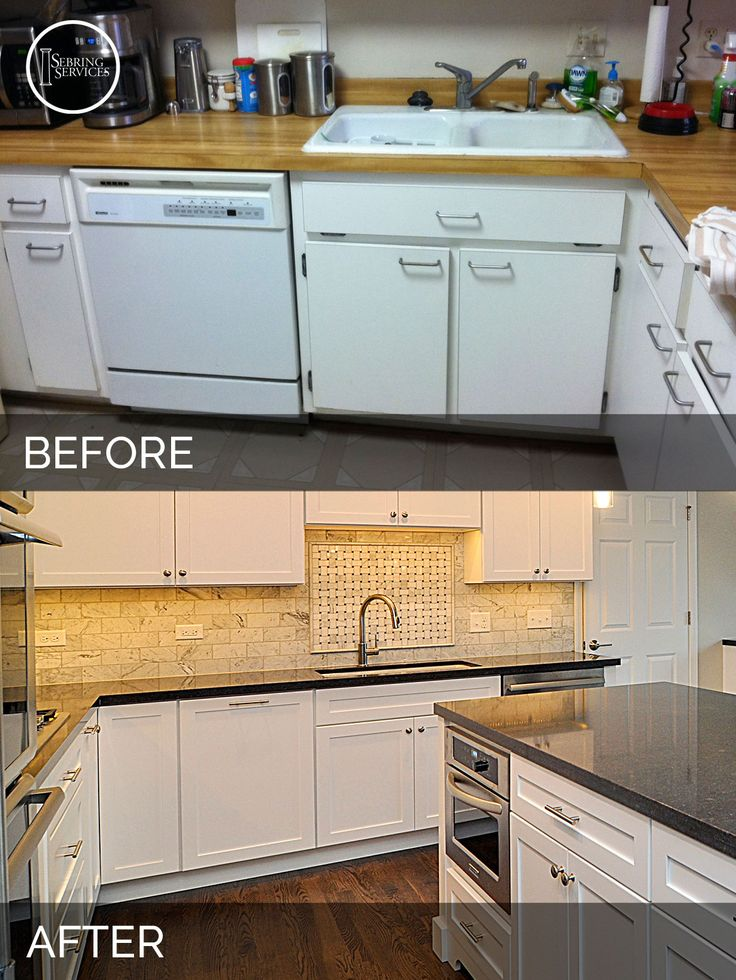 Remodeled Kitchens Before And After Decoration Mesmerizing Design Review