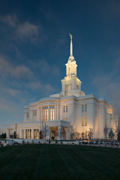 Payson Utah Temple Open House Begins - Church News and Events