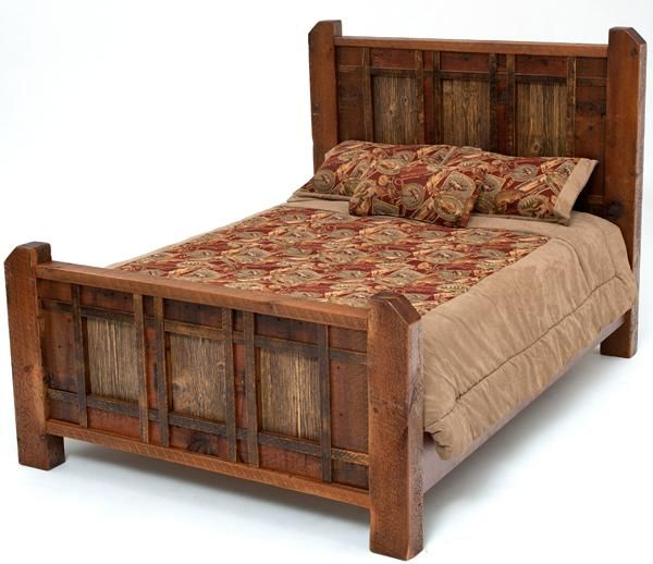 reclaimed wood bed heritage collection design 1a