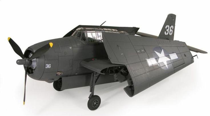 1/18 ULTIMATE SOLDIER FLIGHT 19 TBF-1 AVENGER #36...NO FIGURES JUST PLANE xd