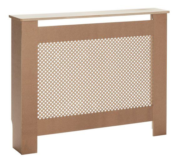 Buy HOME Odell Unfinished Radiator Cover - Small at Argos.co.uk, visit Argos.co.uk to shop online for Radiator covers, Home furnishings, Home and garden