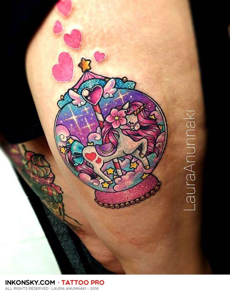 Tattoo by Laura Anunnaki                                                                                                                                                                                 Más