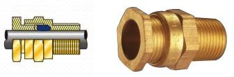 #A2CableGlands  The range of A1/A2 cable glands which we offer is designed with outer displacement seals. Fabricated form raw quality proven raw materials these are widely used for armored cables with rubber outer sheath. These cables can tolerate all kinds of weather and are known for their sustainability against water.