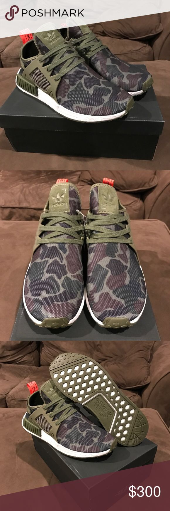 Adidas Camo NMD_XR 1 *Exclusive* Adidas Camo NMD_XR 1 *Exclusive* BRAND NEW IN BOX. This is an exclusive release from Adidas SOLD OUT everywhere and Deadstock. Make an offer!!! Adidas Shoes Sneakers