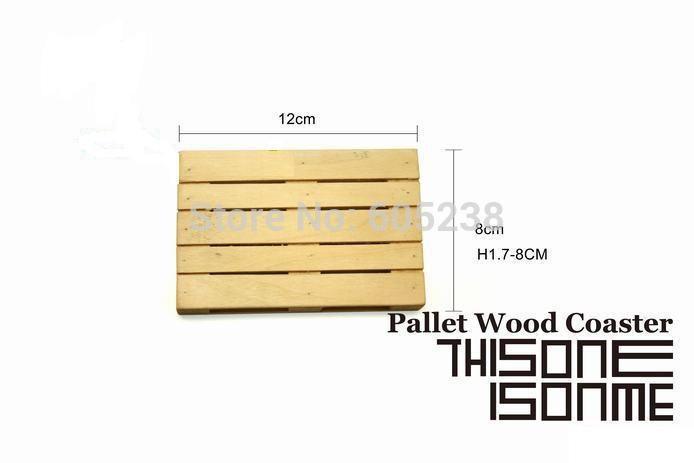 Aliexpress.com: Comprar Pallet de madera Set Coaster Styled / Mini posavasos de paletas de madera de tamaño de la plataforma fiable proveedores en Geek Alert