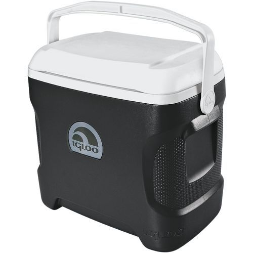 Igloo Contour 30 Qt Personal Cooler Black Ice Chests Water