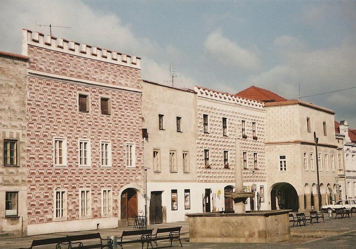 Slavonice            domy č.p. 461,462,463,464