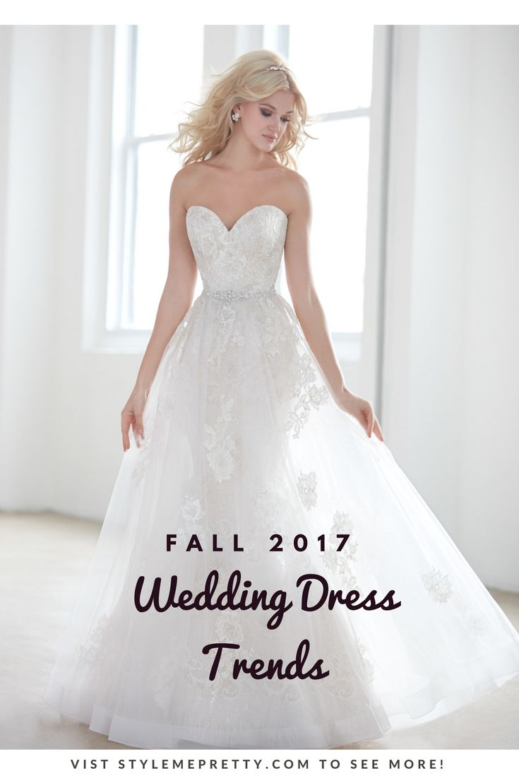 With sweet romantic details and  figure-flattering silhouettes the Fall 2017 Collection from Madison James has it all.