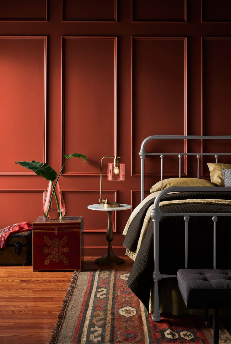 Color of the Month Hot and Spicy Colorfully BEHR in