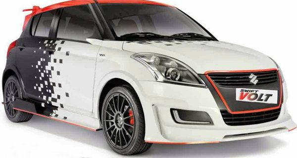Suzuki Swift Volt อีโคคาร์แต่งเต็มสุดโหด