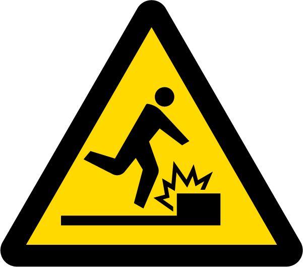 7 注意 Warning 障害物注意 Caution, obstacles | Public information ...
