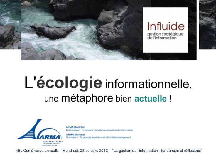 arma-ecologie-presentation-27662991 by Félix Arseneau via Slideshare