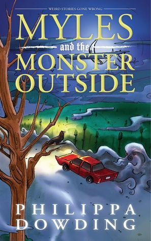 The Book Girl's Book Blog: Book Review: Myles and the Monster Outside